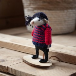"""Mysz w sweterku"" - figurka..."